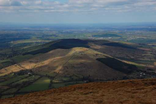 MountainViews.ie Picture about mountain Spinans Hill SE Top in area Dublin/Wicklow, Ireland