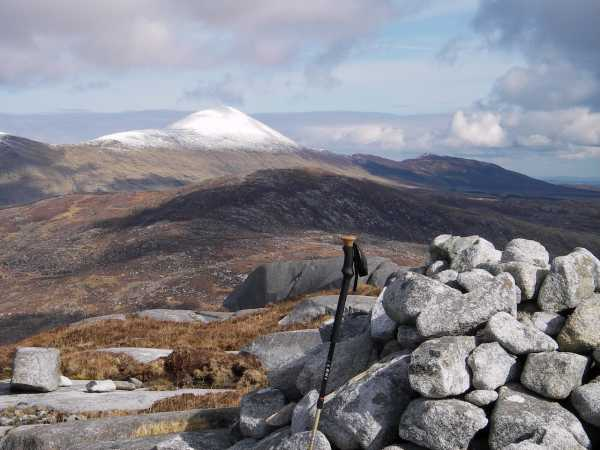 MountainViews.ie Picture about mountain Knockakishaun in area Croagh Patrick, Ireland