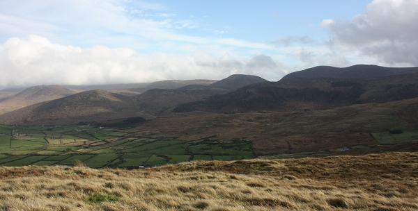 MountainViews.ie Picture about mountain Gruggandoo in area Mourne Mountains, Ireland