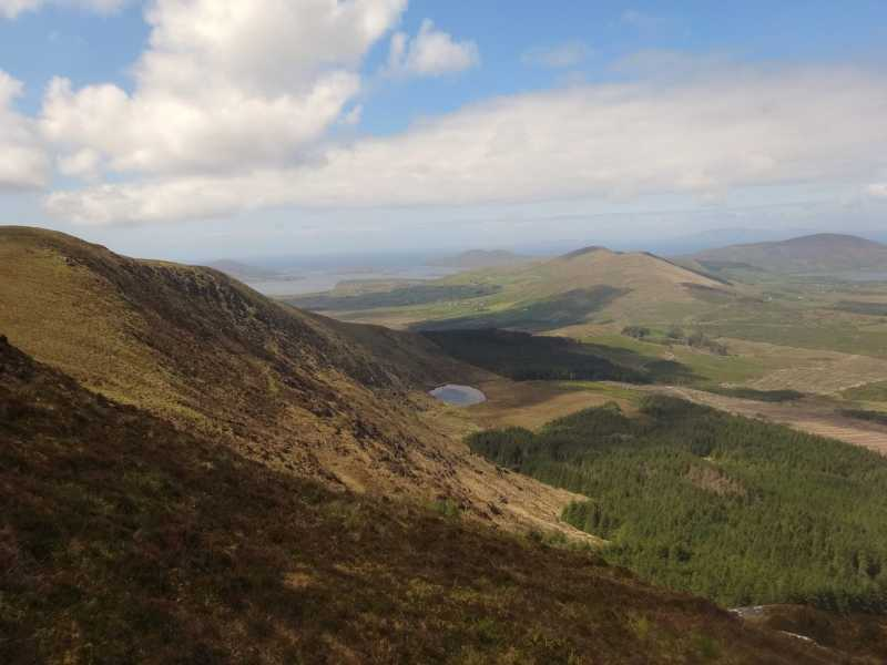 MountainViews.ie Picture about mountain Beentee in area Iveragh NW, Ireland