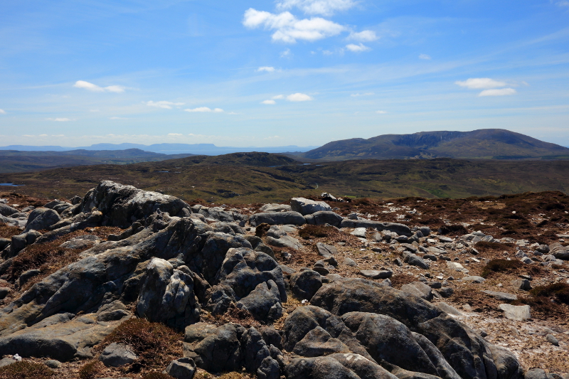 MountainViews.ie Picture about mountain Croaghacullion in area Donegal SW, Ireland