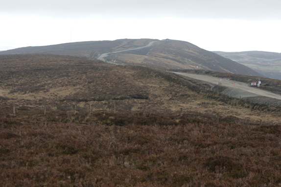MountainViews.ie Picture about mountain Slievekirk (<i>Sliabh Circe</i>) in area Sperrin Mountains, Ireland