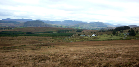 MountainViews.ie Picture about mountain Culliagh SE Top in area Donegal East, Ireland