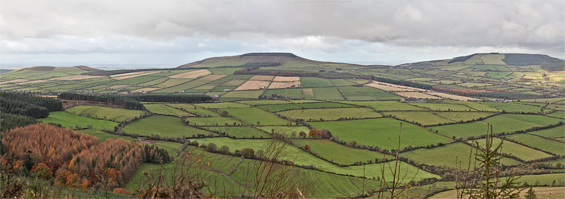 MountainViews.ie Picture about mountain Coppanagh in area South Midlands, Ireland