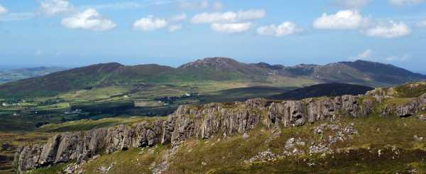 MountainViews.ie Picture about mountain Knockalla in area Donegal NW, Ireland