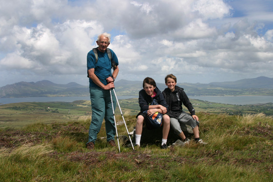 MountainViews.ie Picture about mountain Craigcannon in area Donegal NW, Ireland