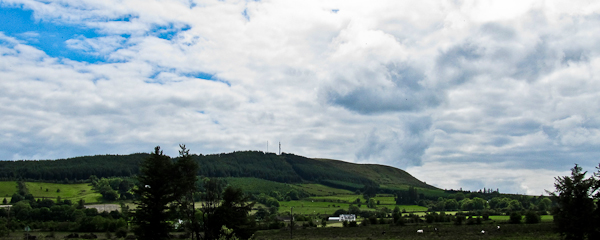 MountainViews.ie Picture about mountain Ballyarthur Hill in area Ballyhoura Mountains, Ireland