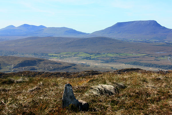MountainViews.ie Picture about mountain Crockmore in area Donegal NW, Ireland