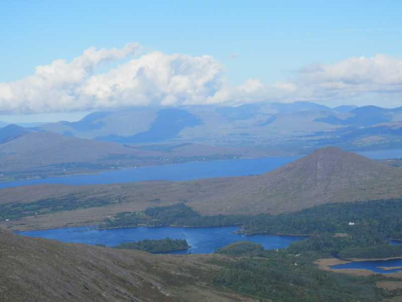 MountainViews.ie Picture about mountain Knockatee in area Caha Mountains, Ireland