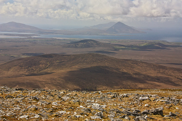 MountainViews.ie Picture about mountain Slieve Alp in area North Mayo, Ireland