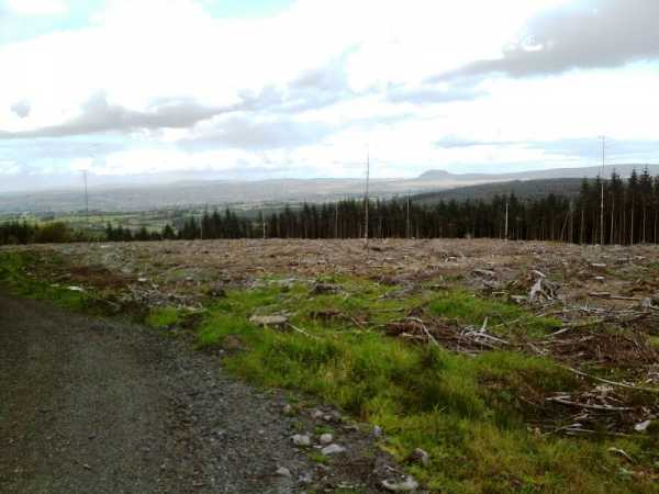 MountainViews.ie Picture about mountain Carnearny in area Antrim Hills, Ireland