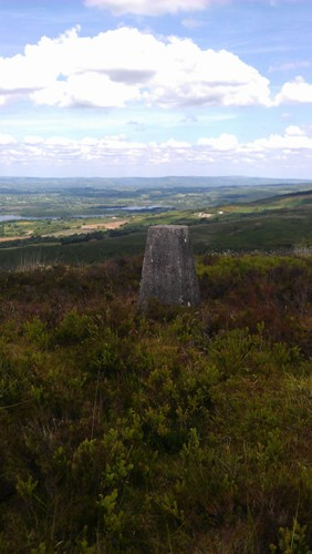 MountainViews.ie Picture about mountain Knockanuarha in area Shannon, Ireland