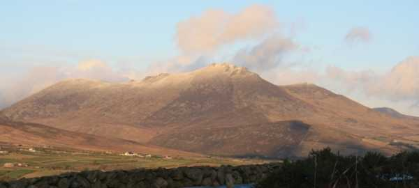 MountainViews.ie Picture about mountain Knockchree in area Mourne Mountains, Ireland