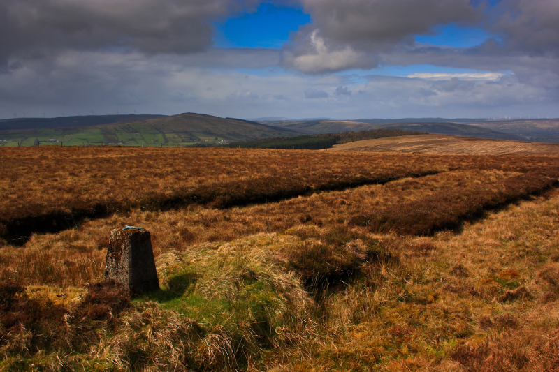 MountainViews.ie Picture about mountain Pollnalaght in area S Donegal/W Tyrone, Ireland