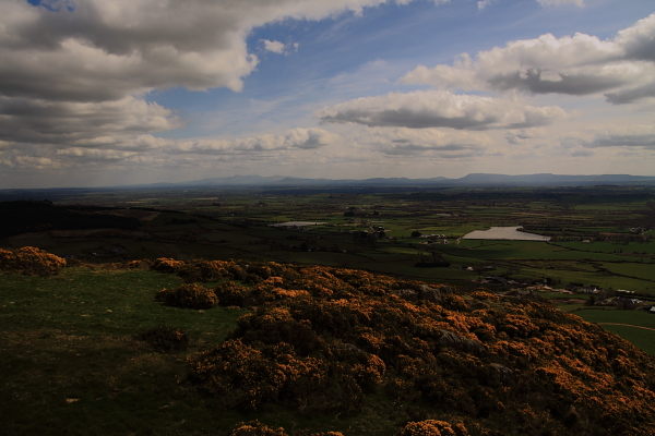 MountainViews.ie Picture about mountain Knockfeerina in area W Limerick/N Kerry, Ireland