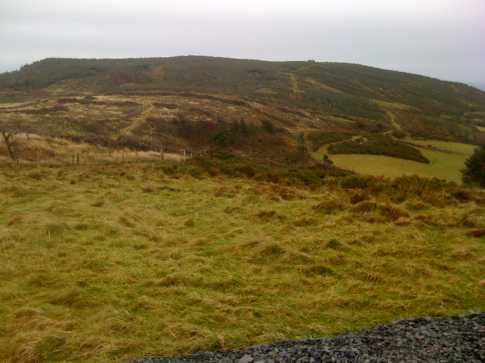 MountainViews.ie Picture about mountain Barranisky in area Wicklow, Ireland