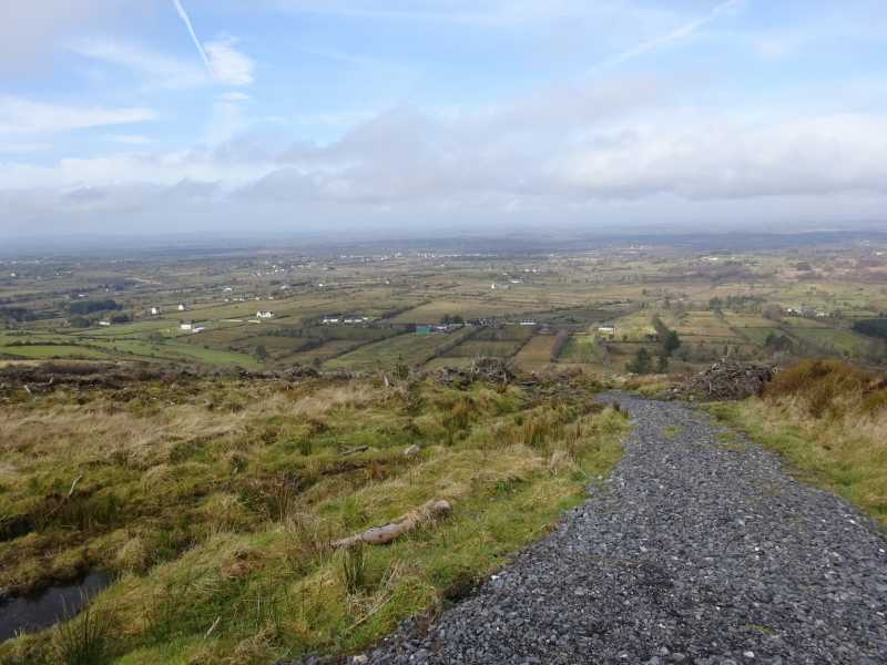 MountainViews.ie Picture about mountain Corn Hill in area North Midlands, Ireland