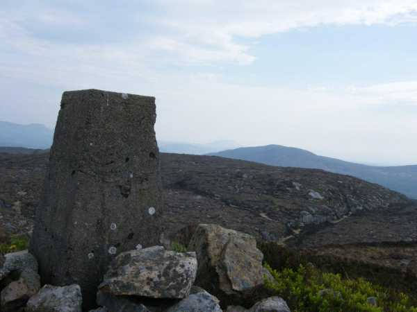 MountainViews.ie Picture about mountain Slieve Daeane in area Ox Mountains, Ireland