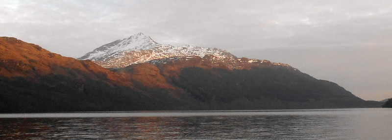 MountainViews.ie Picture about mountain Ben Lomond in area Loch Lomond to Strathyre, Ireland