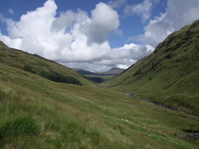 MountainViews.ie Picture about mountain Beinn Bhuidhe in area Inveraray to Crianlarich, Ireland