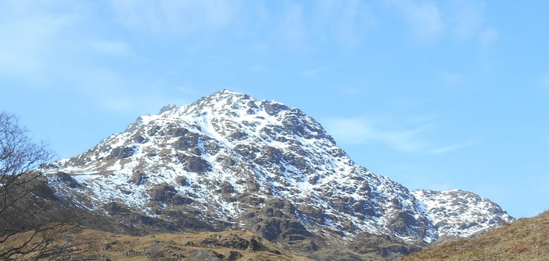 MountainViews.ie Picture about mountain Ben Vane in area Inveraray to Crianlarich, Ireland