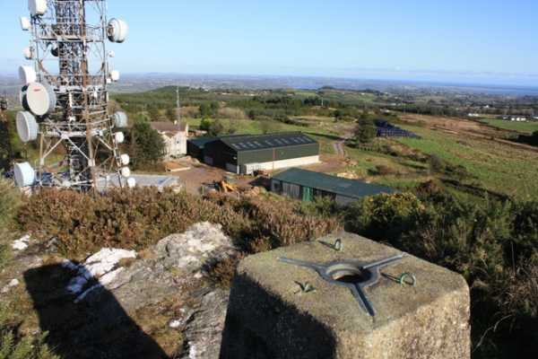 MountainViews.ie Picture about mountain Forth Mountain in area South Wexford, Ireland