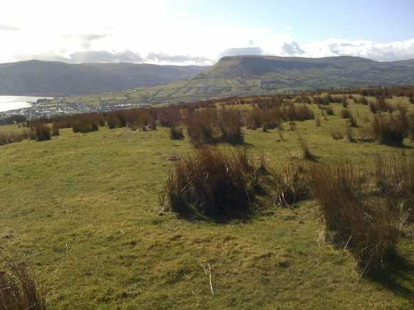 MountainViews.ie Picture about mountain Cross Slieve in area Antrim Hills, Ireland