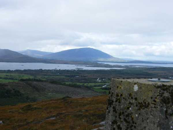 MountainViews.ie Picture about mountain Carranarah in area Ox Mountains, Ireland