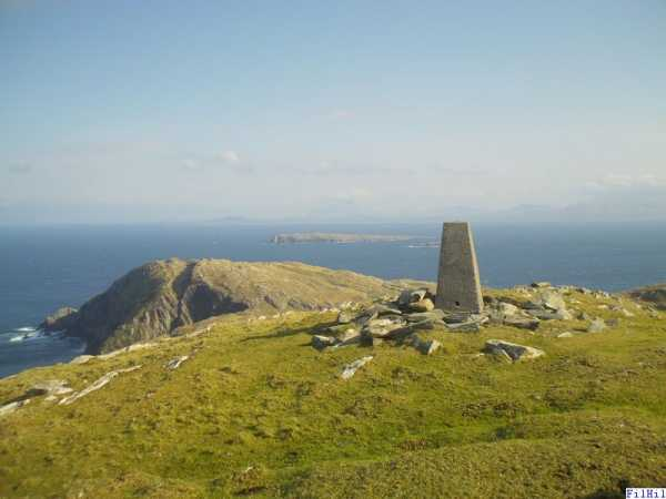 MountainViews.ie Picture about mountain Inishturk in area Mayo Islands, Ireland