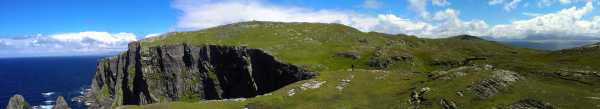 MountainViews.ie Picture about mountain Inishturk in area Mweelrea Mountains, Ireland