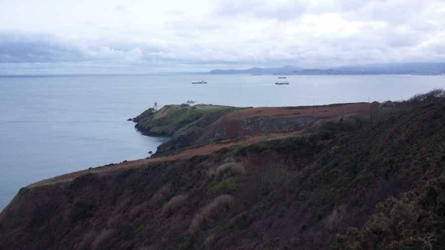 MountainViews.ie Picture about mountain Ben of Howth in area East Coast, Ireland