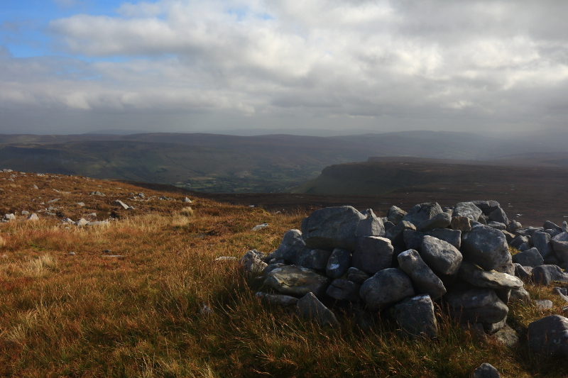 MountainViews.ie Picture about mountain Truskmore SE Cairn in area Dartry Mountains, Ireland