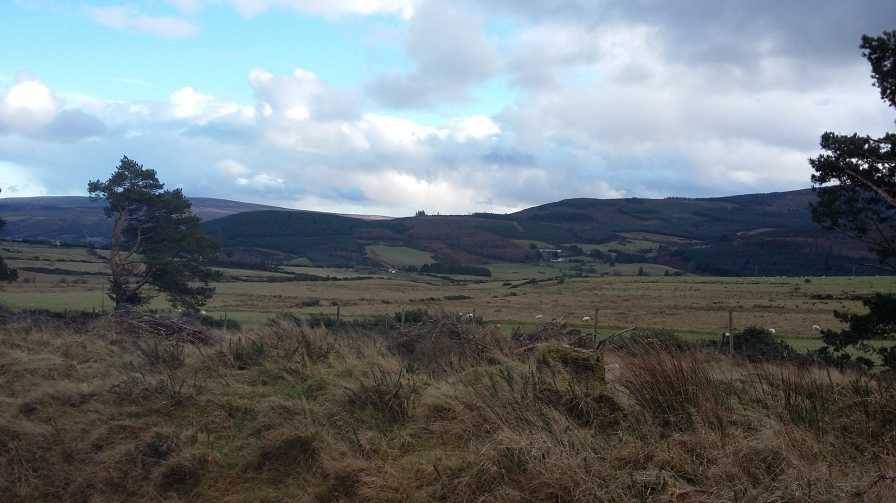 MountainViews.ie Picture about mountain Knockannavea in area Dublin/Wicklow, Ireland