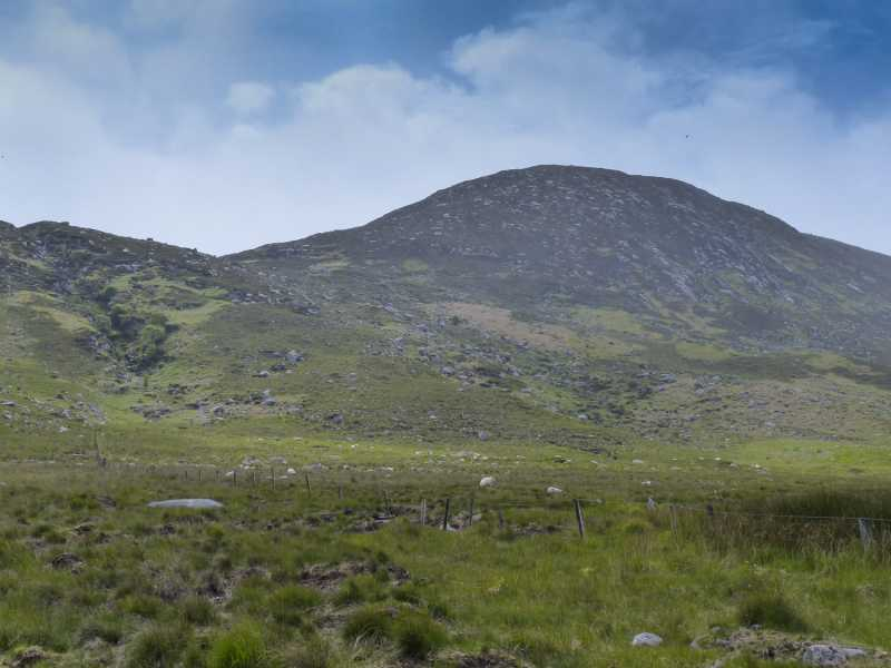 MountainViews.ie Picture about mountain Laghta Eighter Hill in area Sheeffry Hills, Ireland