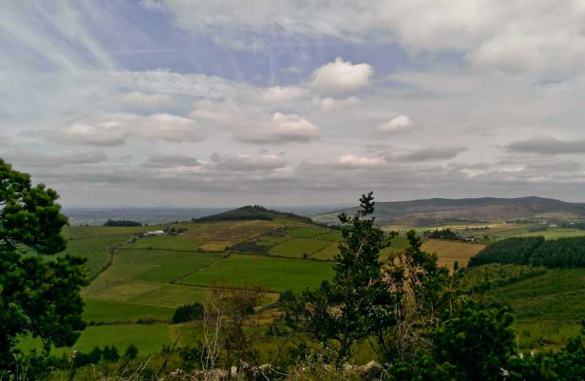 MountainViews.ie Picture about mountain Keale Mountain in area Ballyhoura Mountains, Ireland