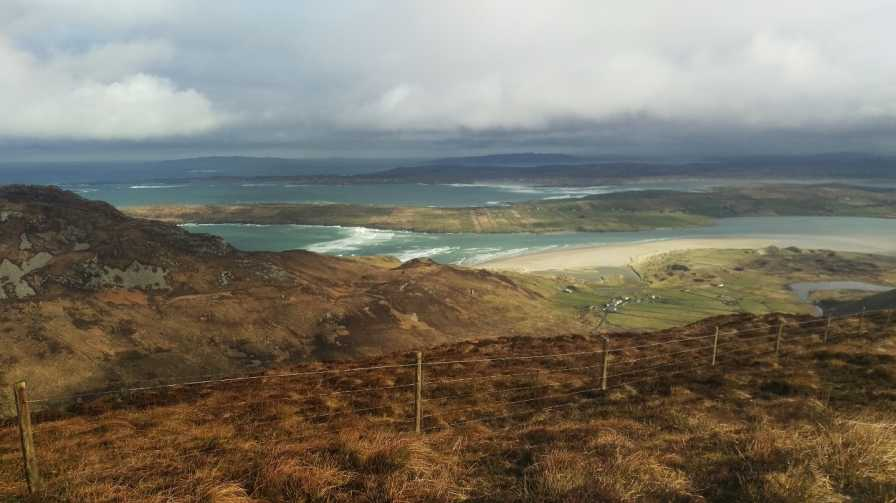 MountainViews.ie Picture about mountain Maum in area Donegal SW, Ireland