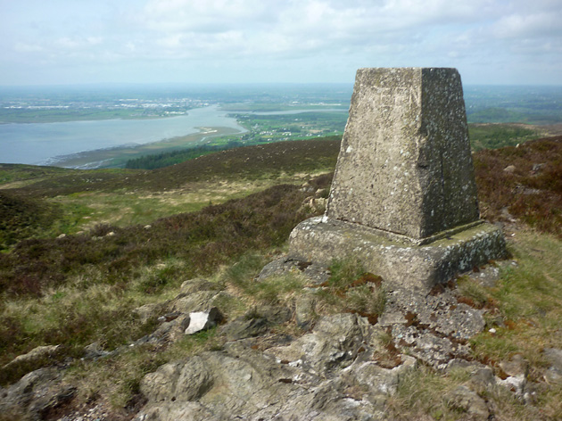 MountainViews.ie Picture about mountain Slievenaglogh in area Cooley/Gullion, Ireland