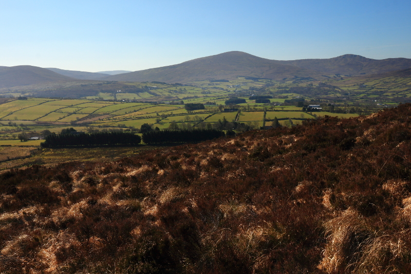 MountainViews.ie Picture about mountain Straid Hill in area Sperrin Mountains, Ireland