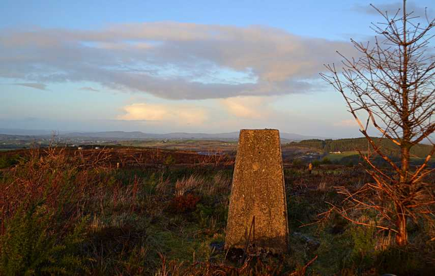 MountainViews.ie Picture about mountain Cappagh Mountain in area Fermanagh/S Tyrone, Ireland