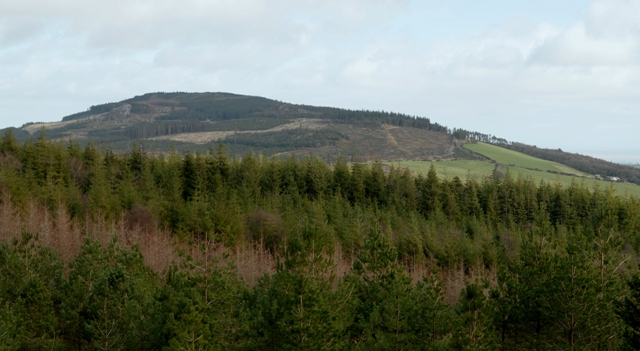 MountainViews.ie Picture about mountain Ballinastraw in area Dublin/Wicklow, Ireland