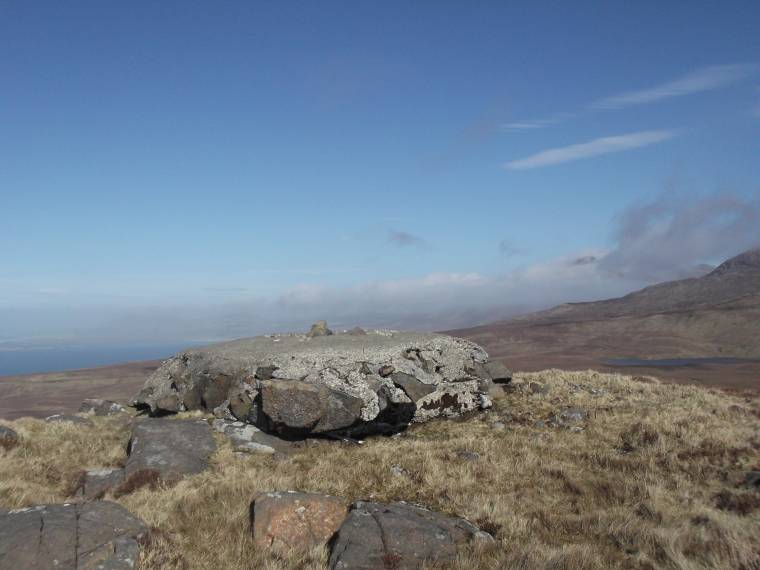 MountainViews.ie Picture about mountain Currywongaun (<i>Corr Uí Mhongáin</i>) in area Twelve Bens, Ireland