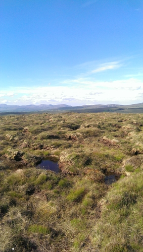 MountainViews.ie Picture about mountain Oughtarnid in area S Donegal/W Tyrone, Ireland