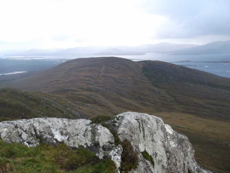 MountainViews.ie Picture about mountain Dereenavurrig Hill in area Dunkerron Mountains, Ireland