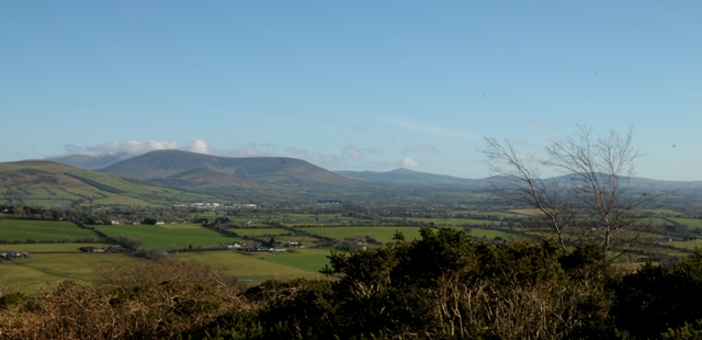 MountainViews.ie Picture about mountain Corballis Hill in area Dublin/Wicklow, Ireland