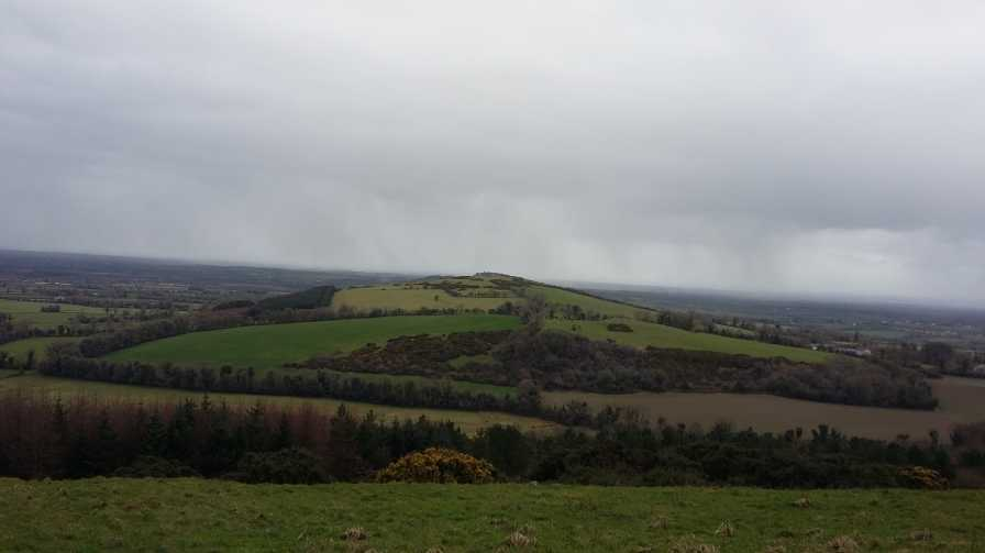 MountainViews.ie Picture about mountain Dunmurry Hill in area North Midlands, Ireland