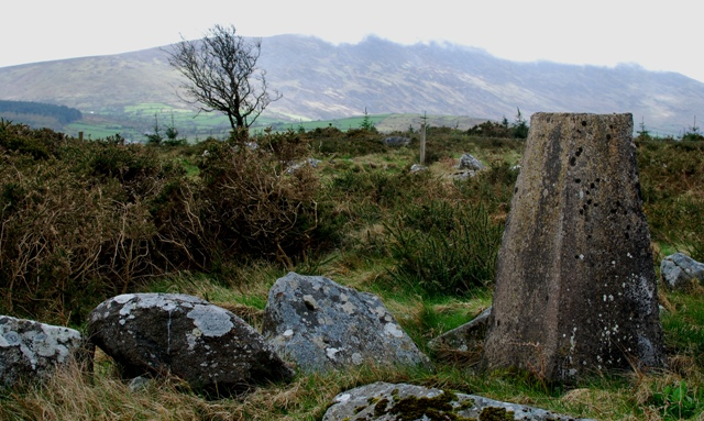 MountainViews.ie Picture about mountain Knockmore in area Blackstairs Mountains, Ireland