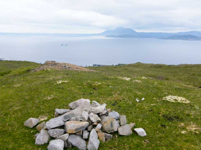 MountainViews.ie Picture about mountain Knocknaveen (Glan Hill) in area Achill & Corraun, Ireland