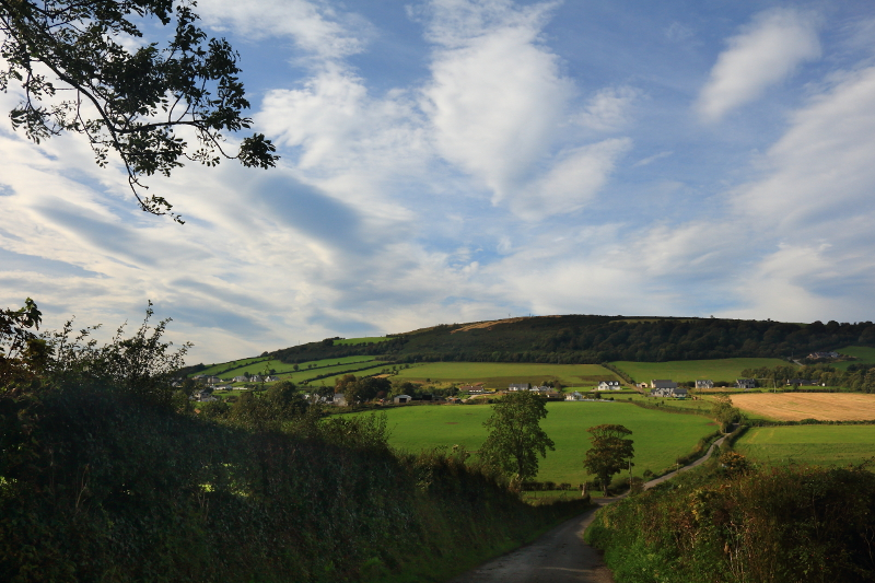 MountainViews.ie Picture about mountain Binnion Hill in area Inishowen, Ireland