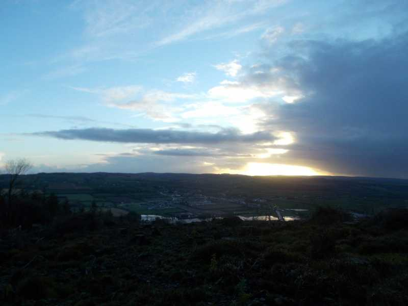 MountainViews.ie Picture about mountain Knockroe  in area Nagles Mountains, Ireland