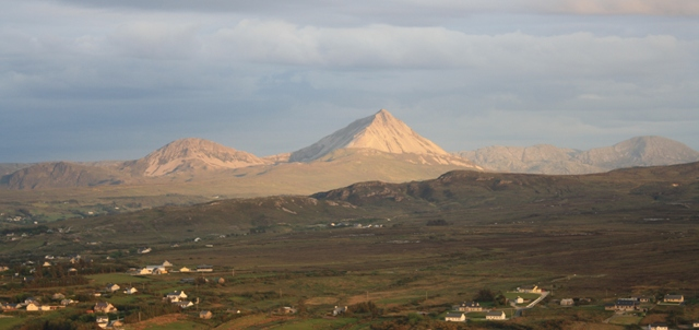 MountainViews.ie Picture about mountain Crocknaneeve in area Donegal NW, Ireland